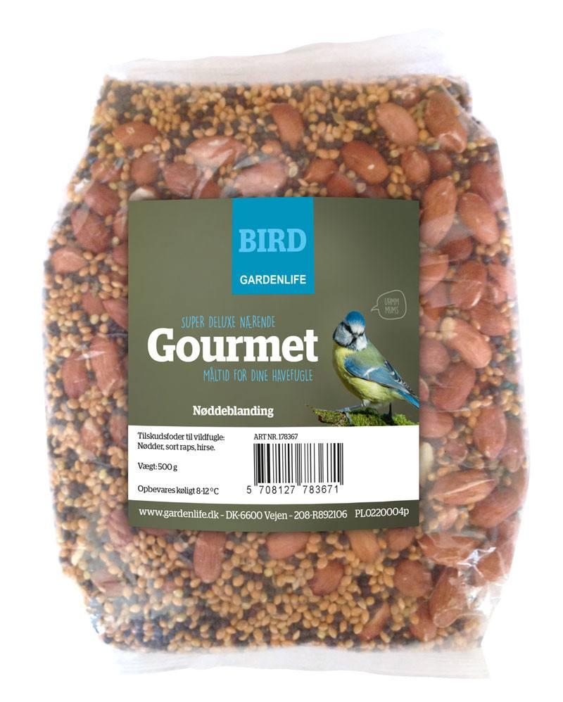 Gourmet nøddeblanding - fuglefoder