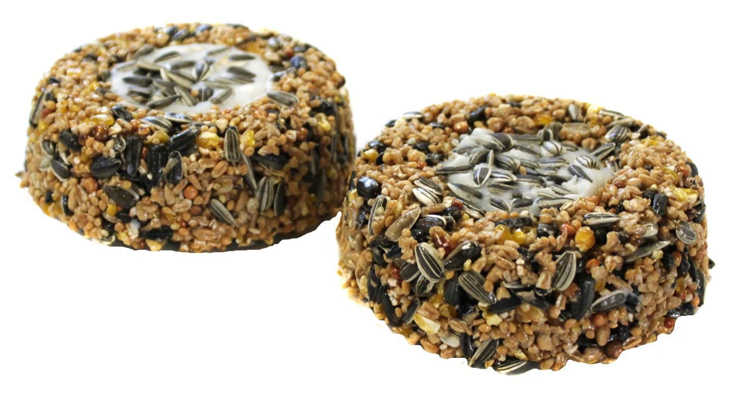 Fuglefoder - mini doughnuts