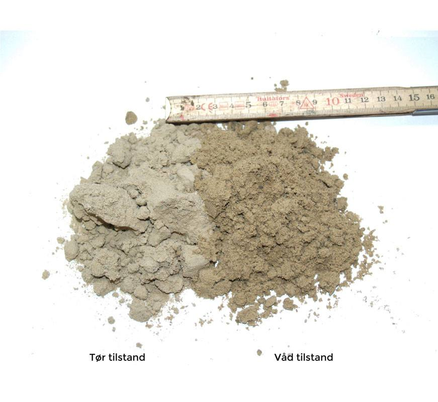 Fyldsand - bigbag á 1000 kg