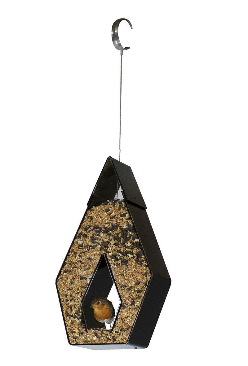 Foderautomat Onyx, hængemodel, højde 28 cm