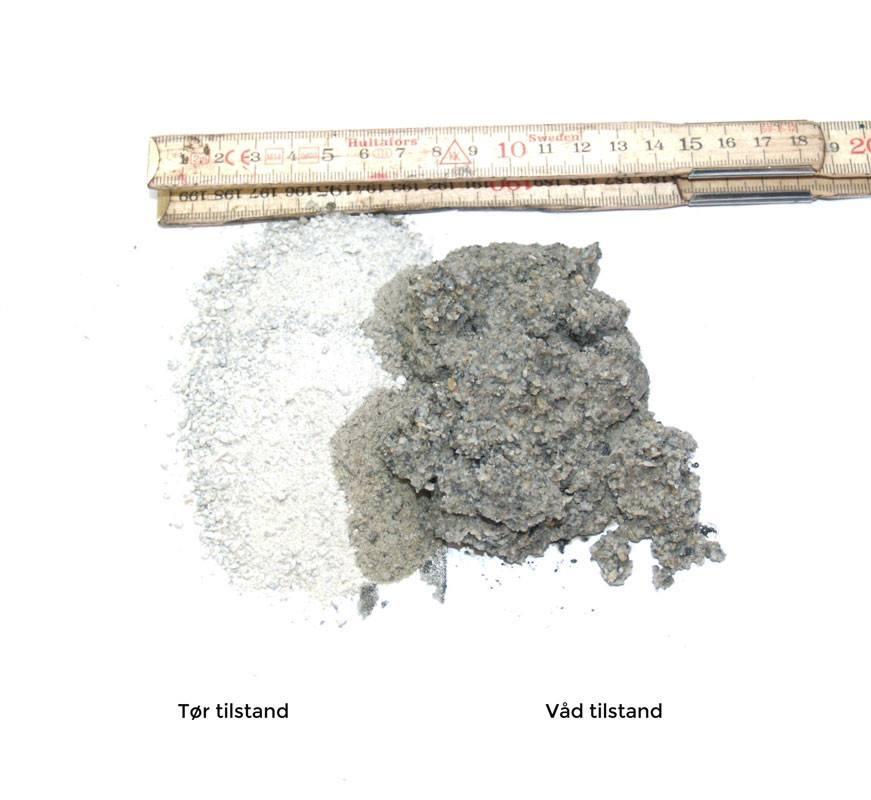 Stenmel Grå 0/2 mm - 42 poser á 15 liter