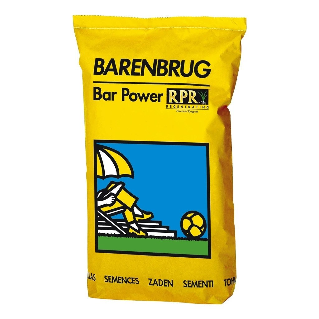 Græsfrø Barenbrug Bar Power RPR plænegræs 15 kg