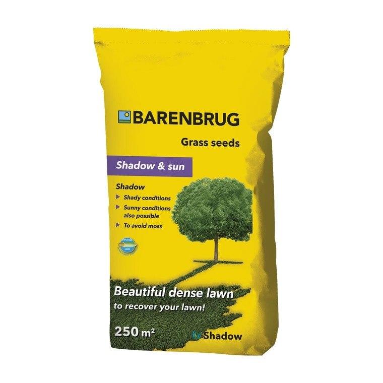 Græsfrø Barenbrug Shadow & sun plænegræs 5 kg