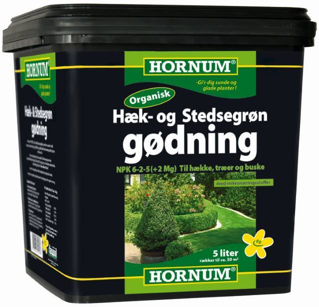 Hornum Hæk- og stedsegrønt gødning