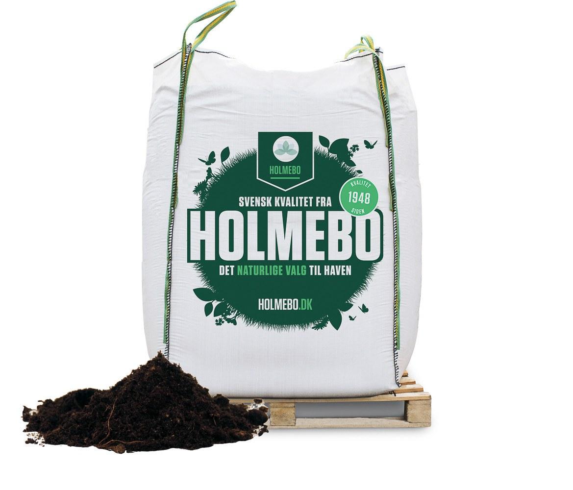 Holmebo Gartnermuld - Bigbag á 2000 liter