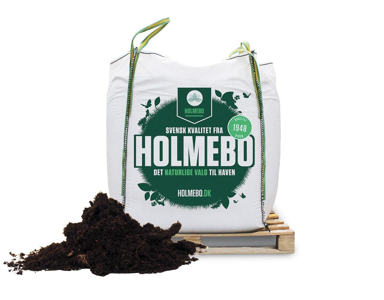 Holmebo gødet sphagnum - Bigbag á 1000 liter - 2. sortering