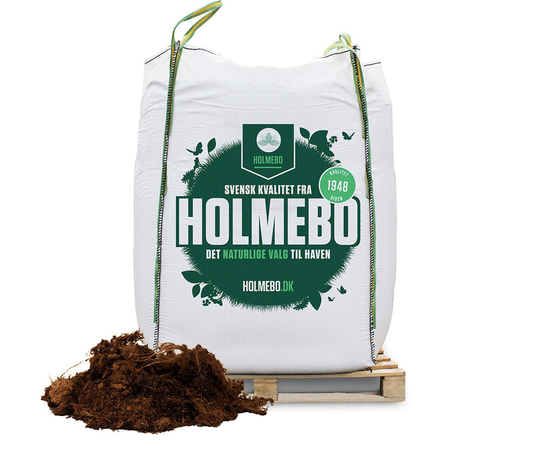 Holmebo Grov Sphagnum 0-50 mm - Bigbag á 2000 liter