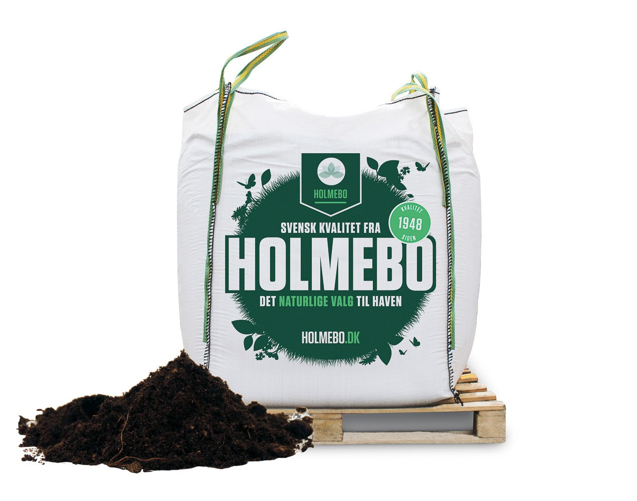 Holmebo Højbedsmuld - Bigbag á 1000 liter