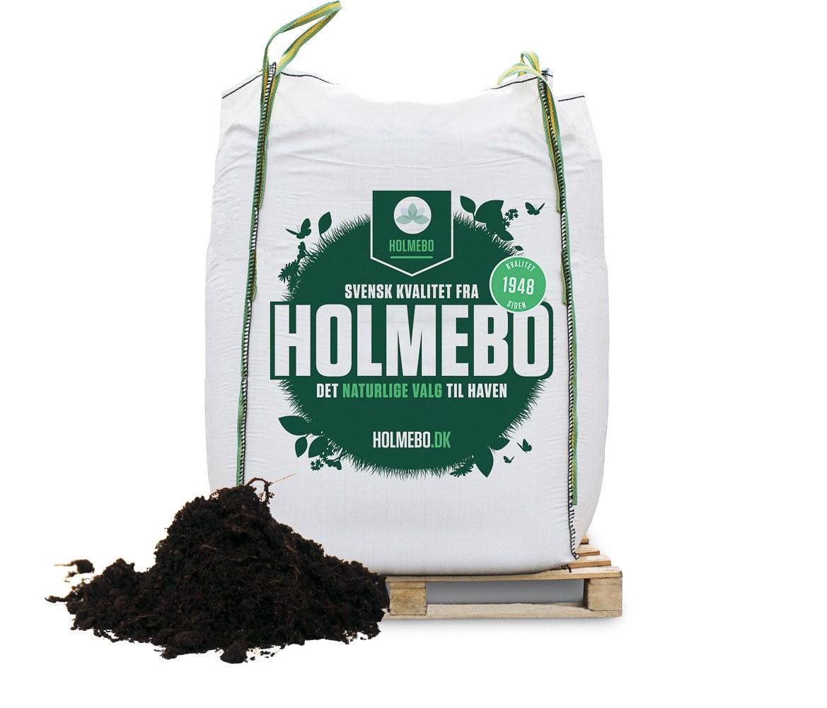Holmebo Køkkenhavemuld - Bigbag á 2000 liter