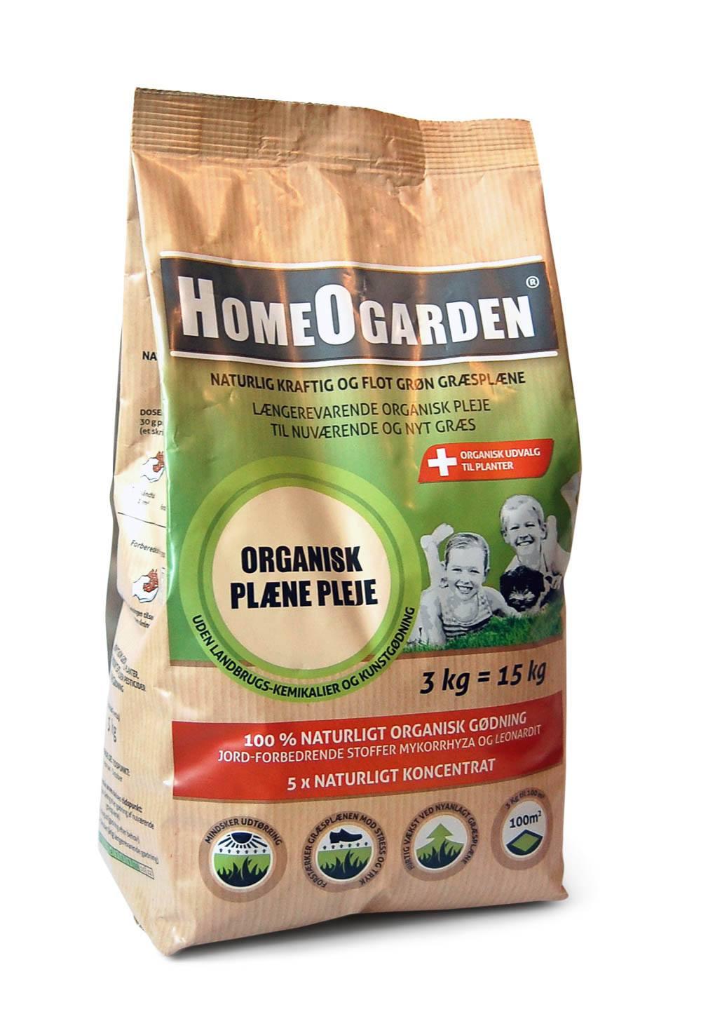 Organisk Plæne Pleje 3 kg