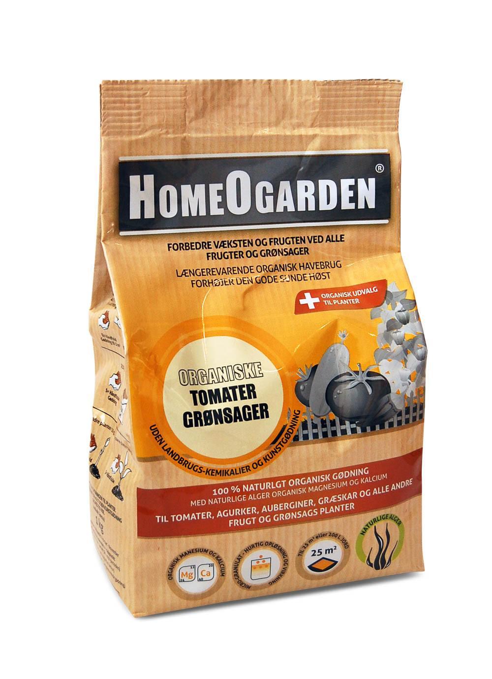 Organiske Tomater og Grønsager 1 kg