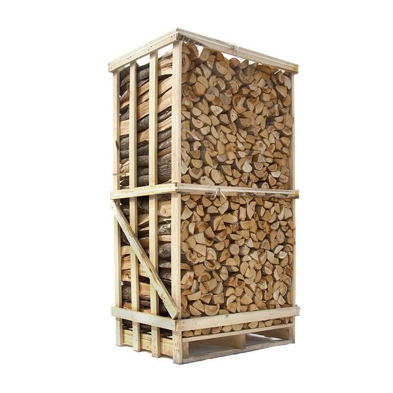 Lufttørret Blandet løvtræsbrænde