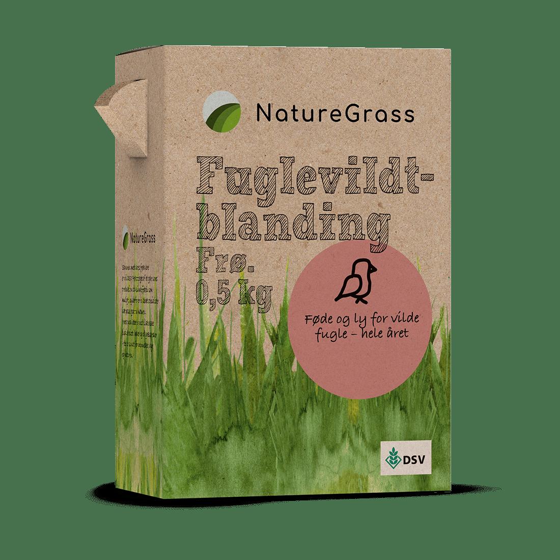 NatureGrass Fuglevildt blanding 0,5 kg
