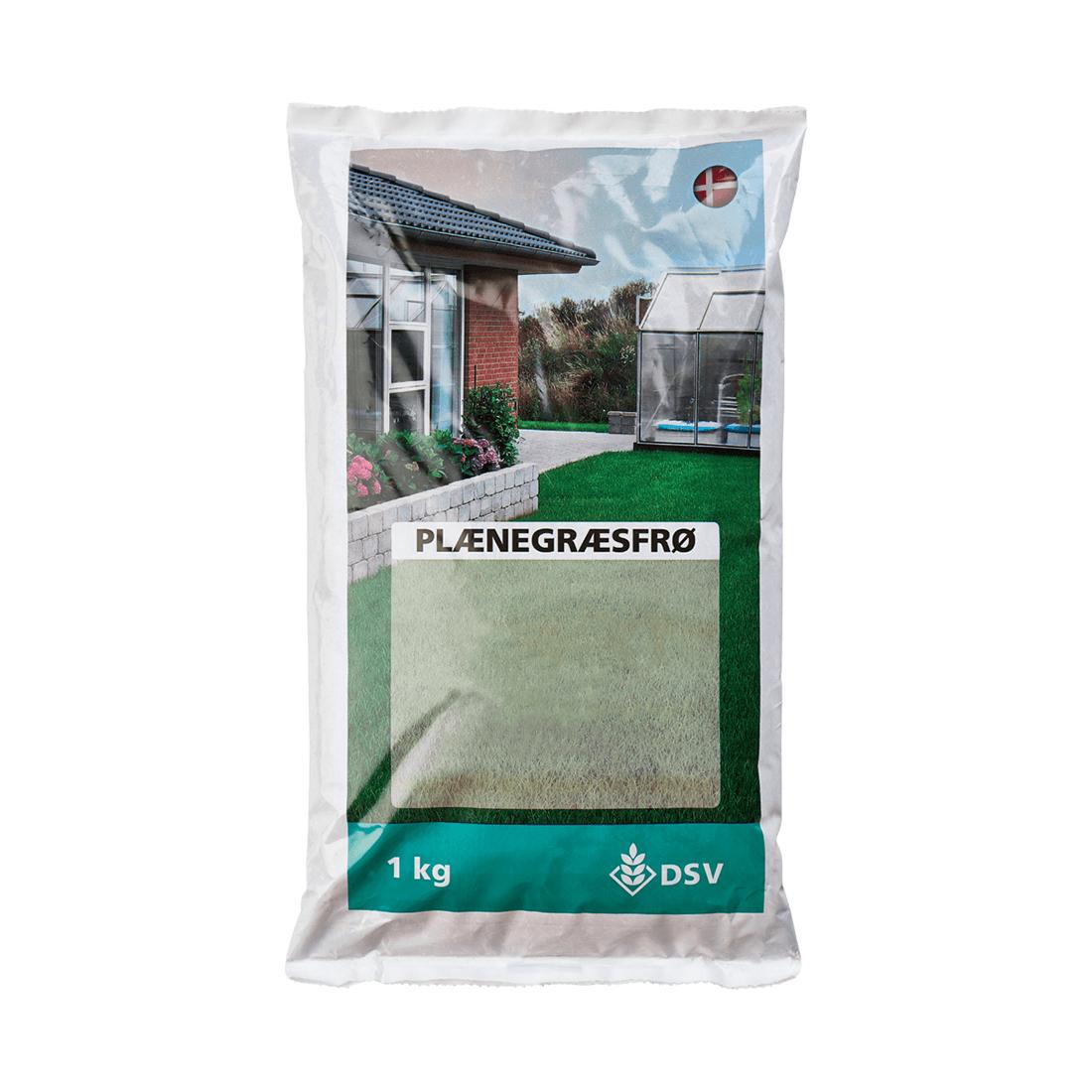 Græsfrø - Nøjsom blanding, 1 kg