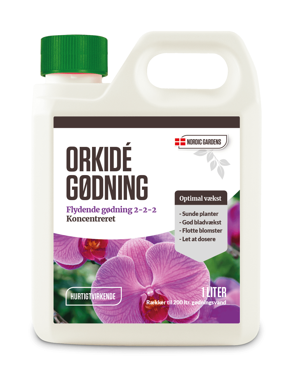 Nordic Gardens Orkidégødning 1 liter