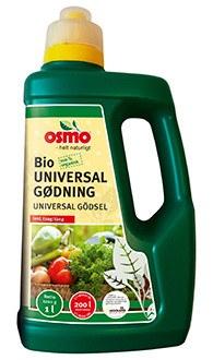Osmo 100 % Biologisk Universal gødning - 1 liter