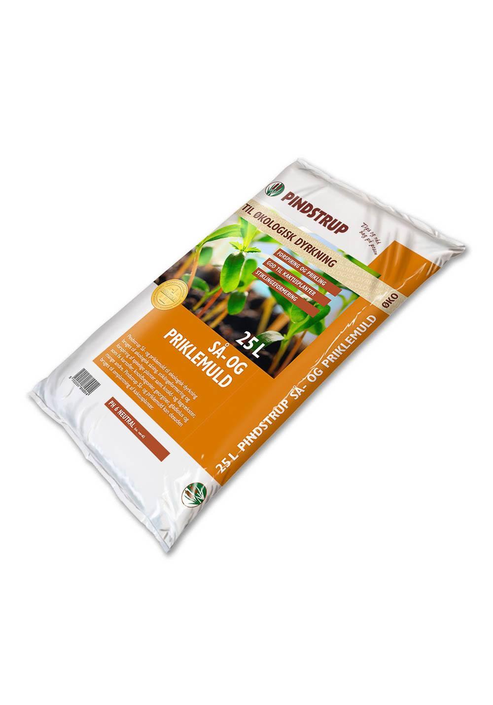 Pindstrup Så- og priklemuld - til økologisk dyrkning - 25 liter