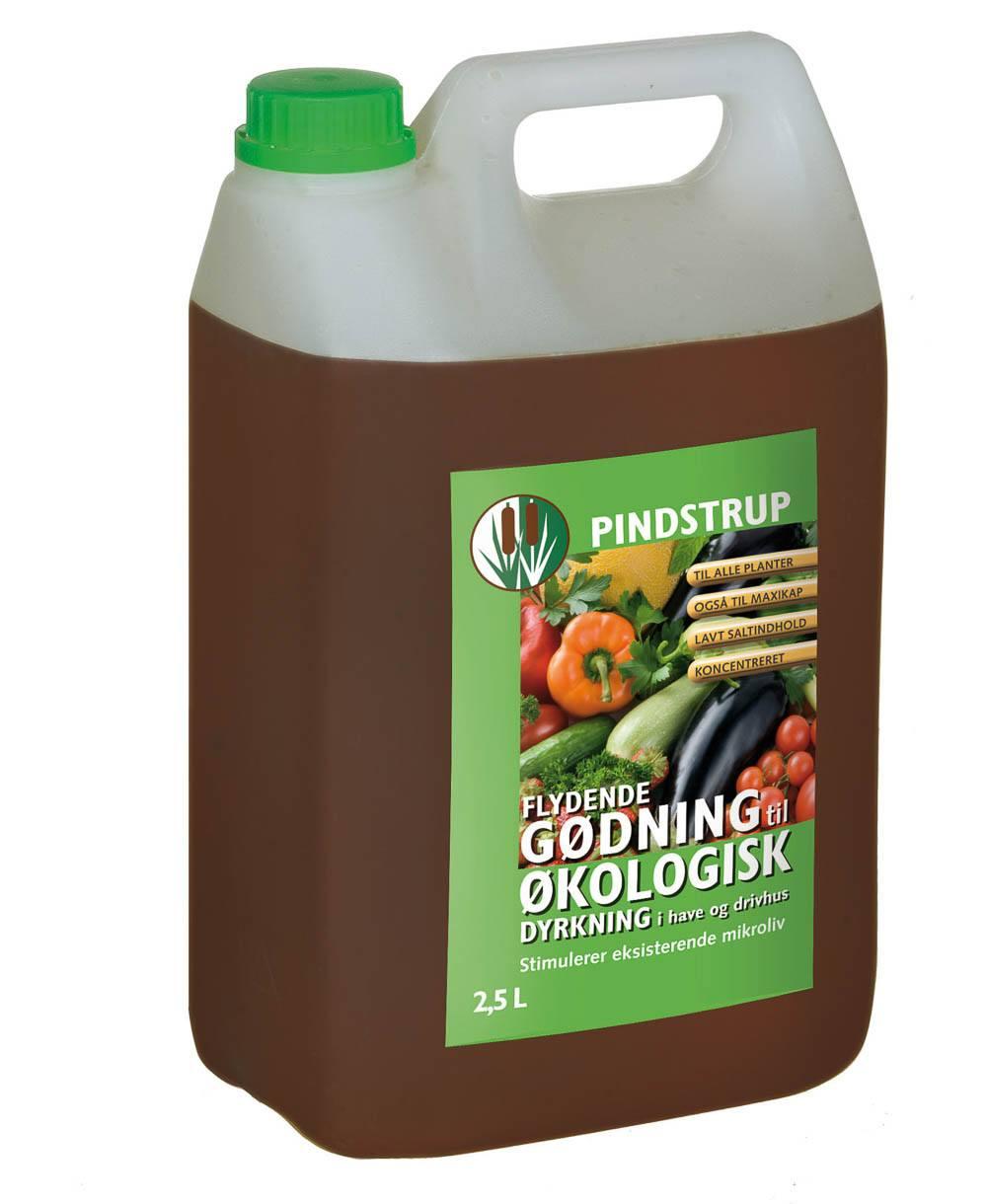 Pindstrup flydende gødning til økologisk dyrkning