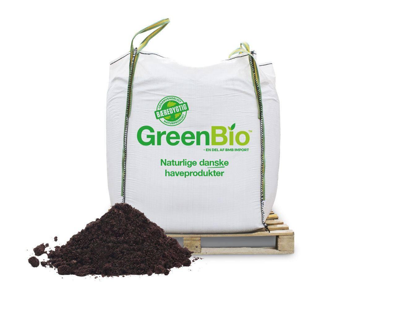 Greenbio Plænemuld med næring 0-12 mm
