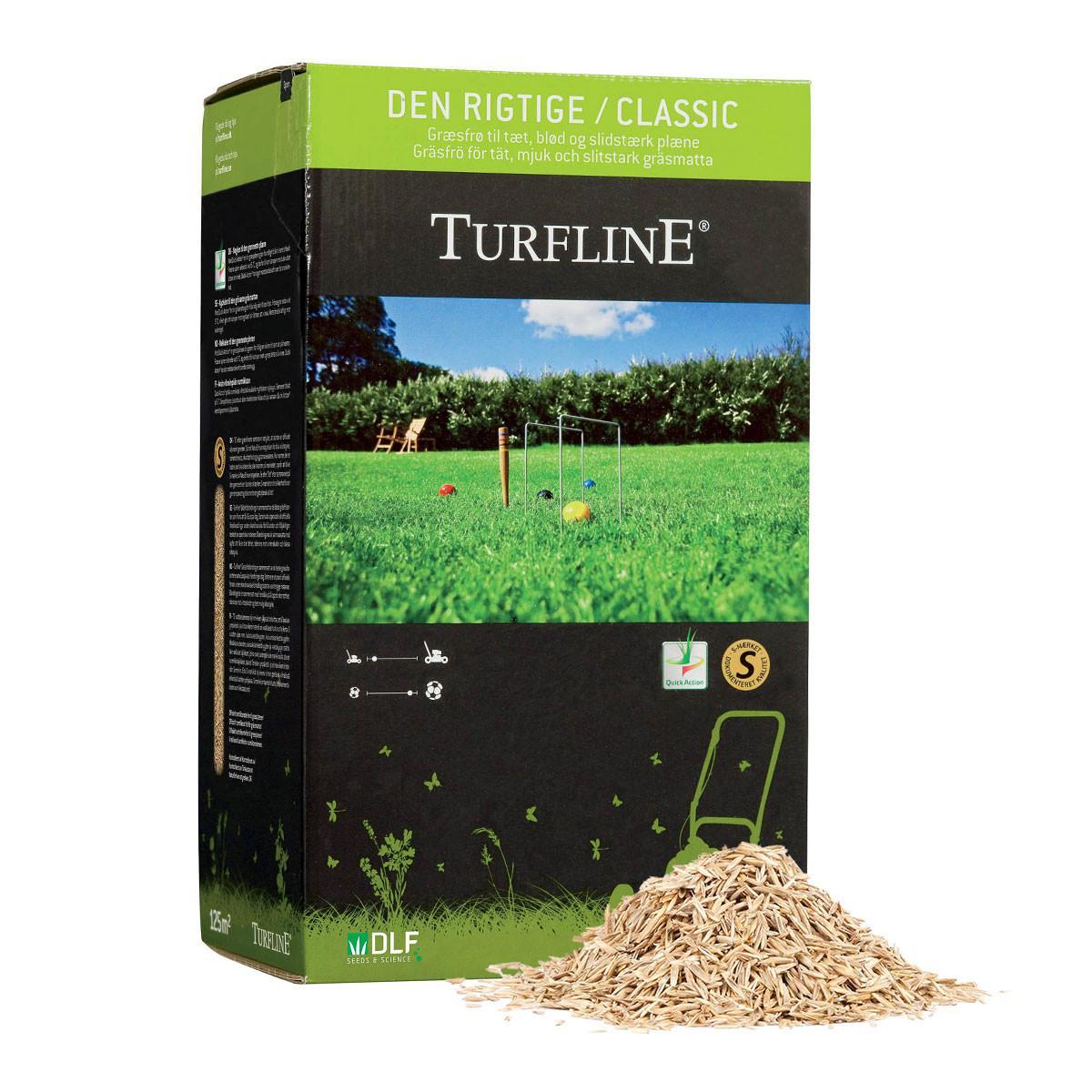 """Turfline - """"Den rigtige"""" græsplæne - 2,5 kg."""