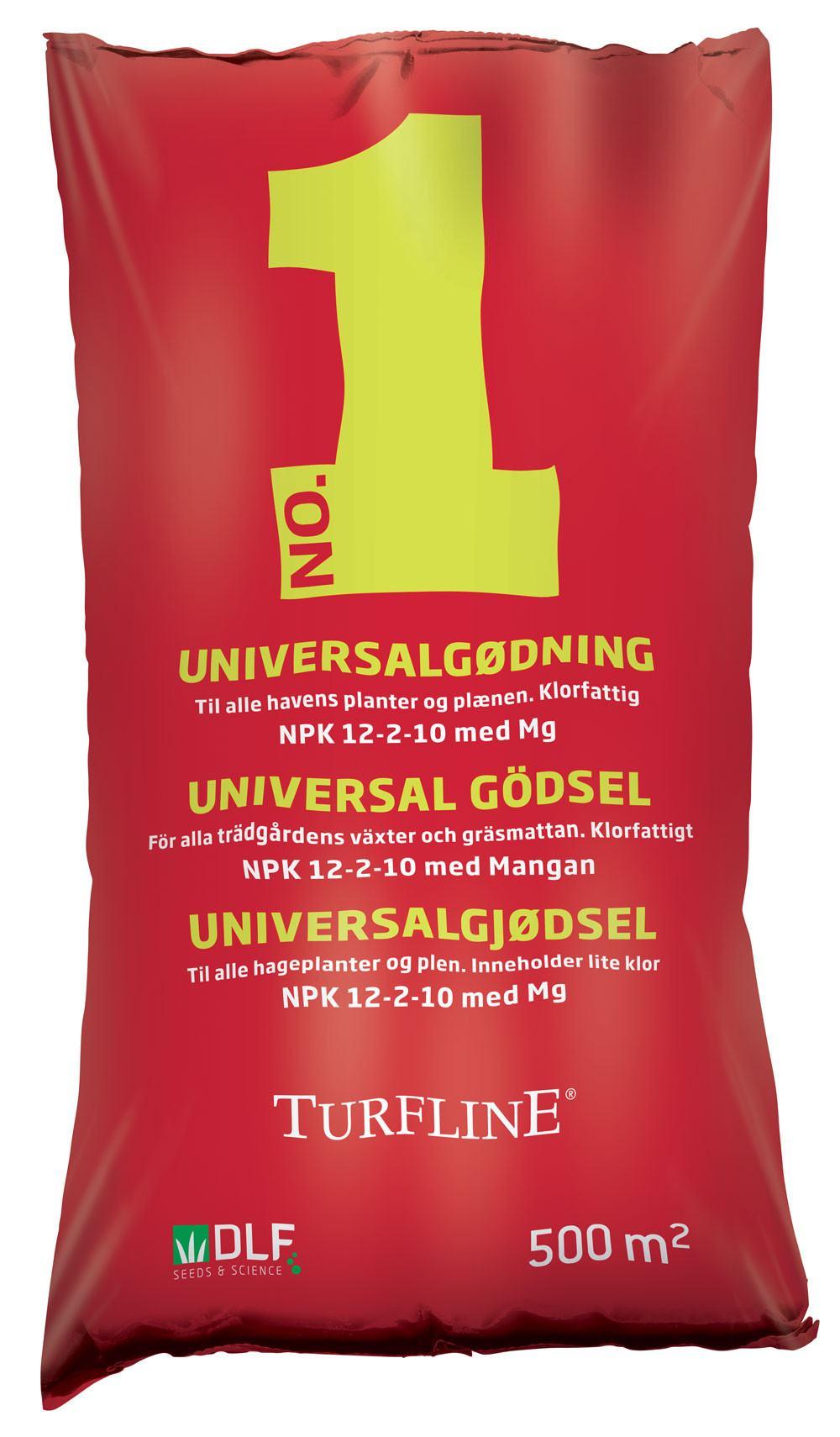 Turfline No. 1 Formula Universalgødning, 15 kg. / 500 m2