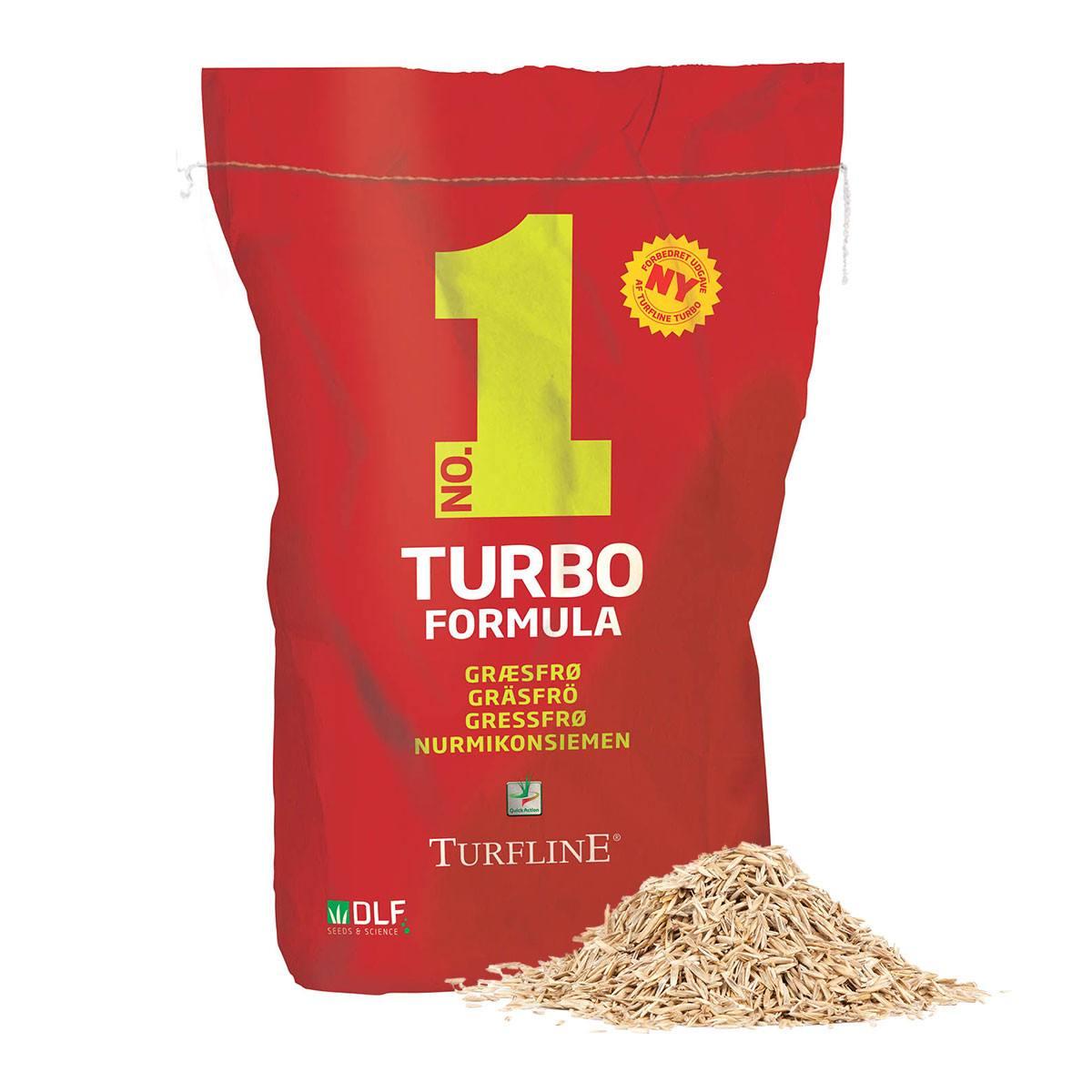Turfline No. 1 TURBO Formula græsfrø - 7,5 kg. / 375 m2
