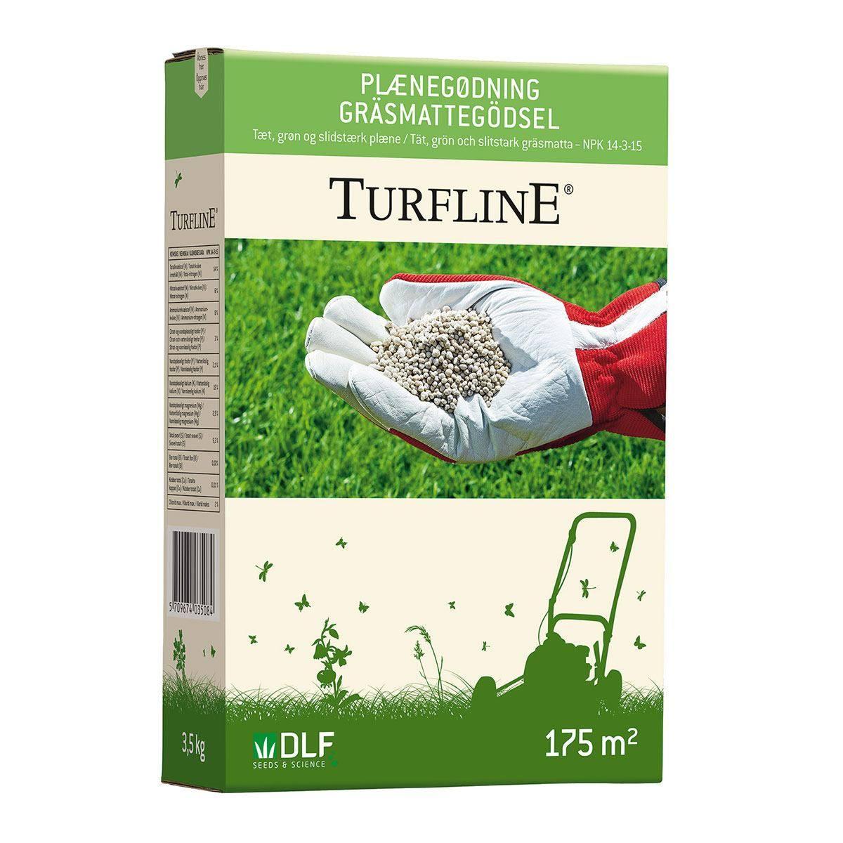 Turfline Plænegødning (mineralsk) - 3,5 kg / 175 m2