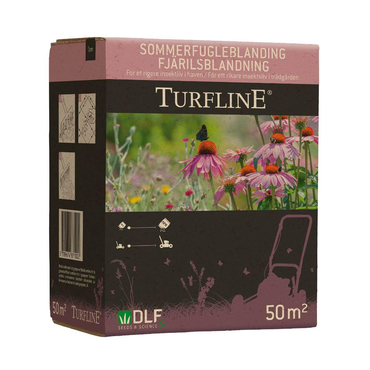 Turfline Sommerfugleblanding