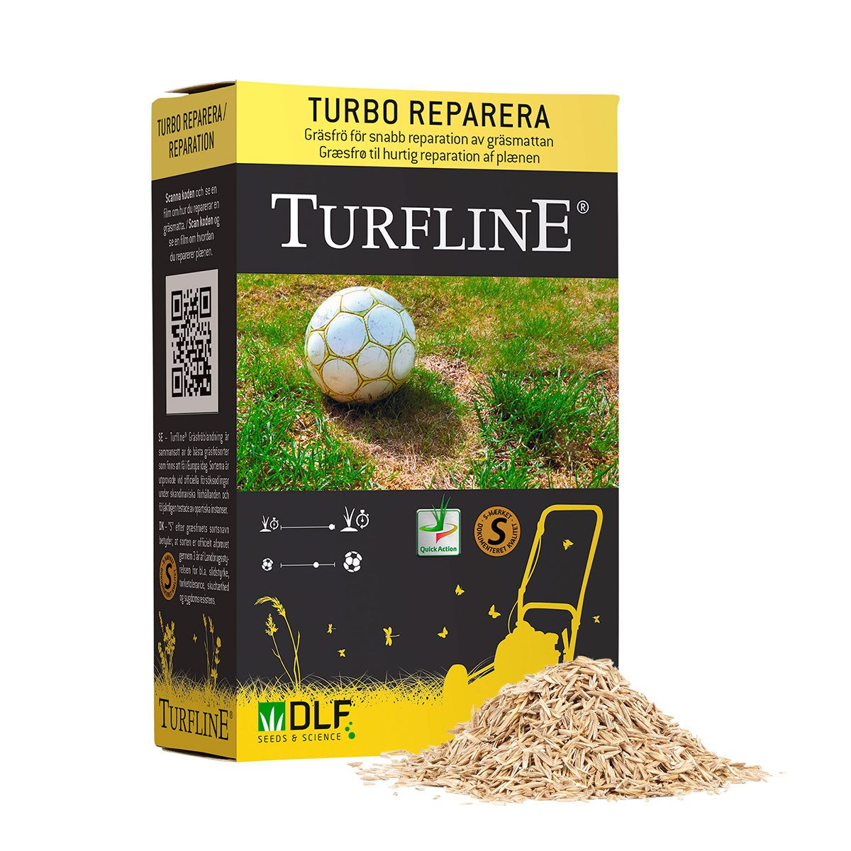 Turfline Turbo Eftersåning - 0,1 kg.