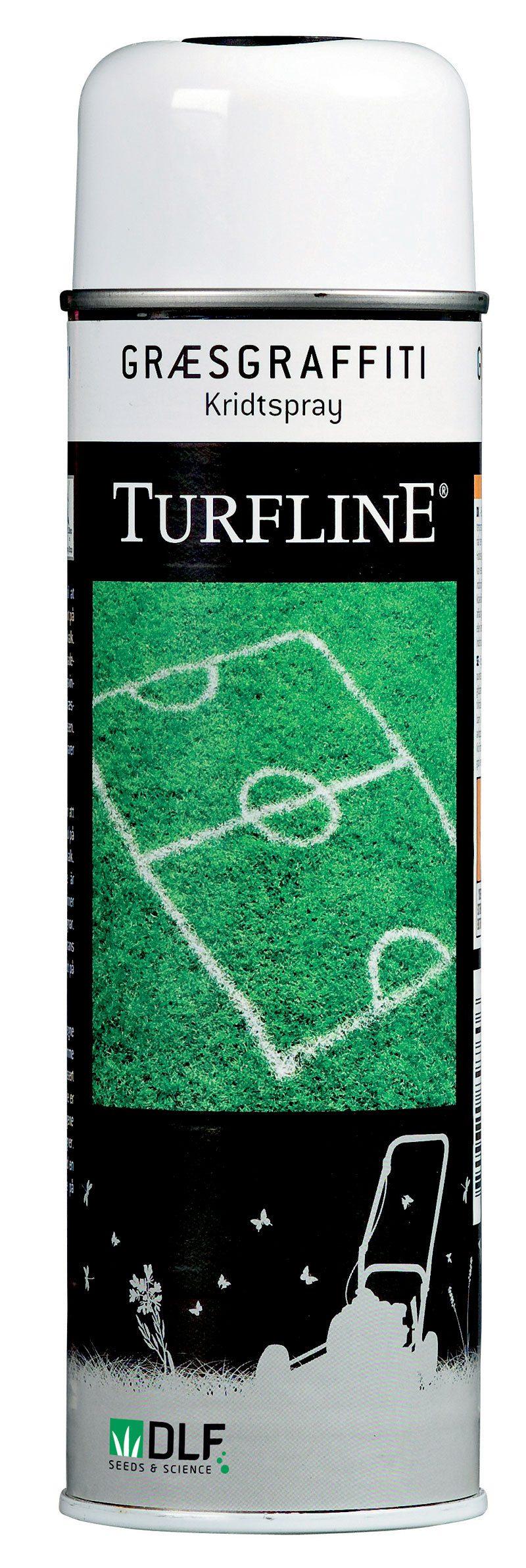 Turfline Græsgraffiti - kridtspray til græs