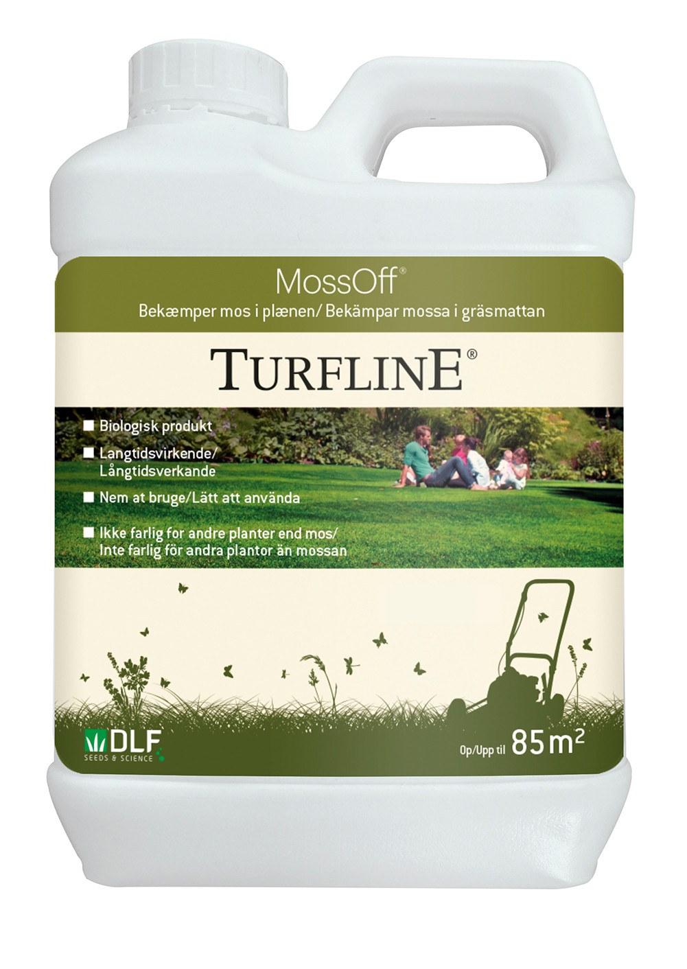 Turfline Moss Off - bekæmper mos i plænen
