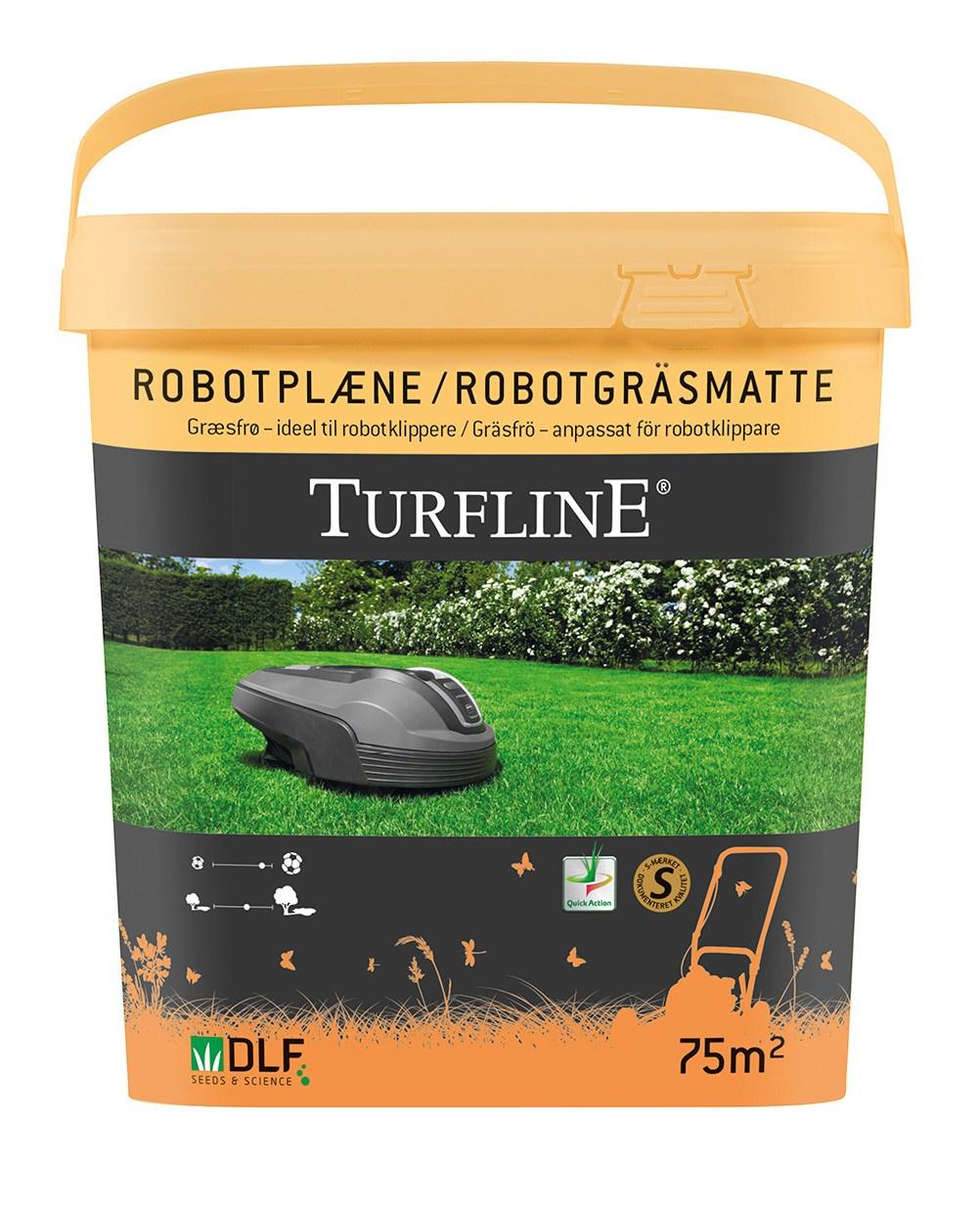 Turfline Robotplæne græsfrø - 75m2 - DATOVARE.