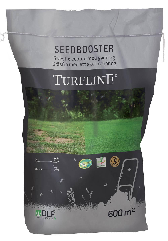 Turfline SeedBooster græsfrø med Accelerator  - 10 kg. / 600 m2 - coated med gødning