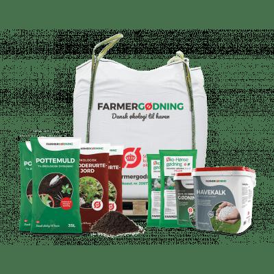 Økologisk klar til foråret pakke