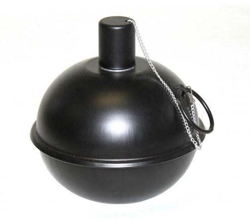 Tumble Torch kuglefakkel - Sort ø14cm