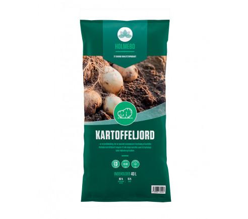 Holmebo Kartoffeljord - 40 liter