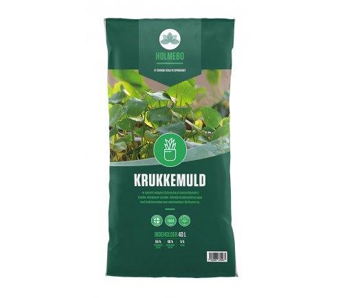 Holmebo Krukkemuld - 40 liters poser