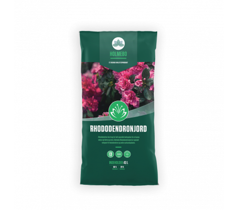 Holmebo Rhododendronjord - pose á 40 liter