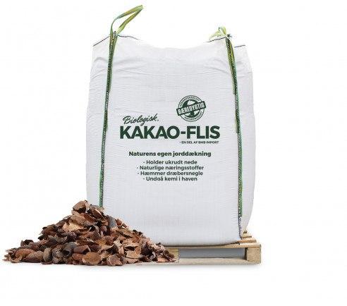 Kakaoflis - kakaoskaller i bigbag til bede