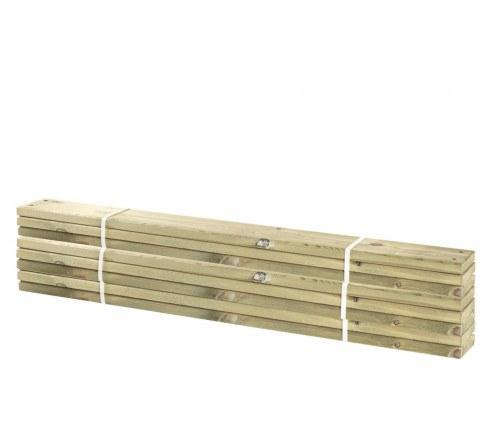 8 stk. planker til Pipe 28x120mm x120cm