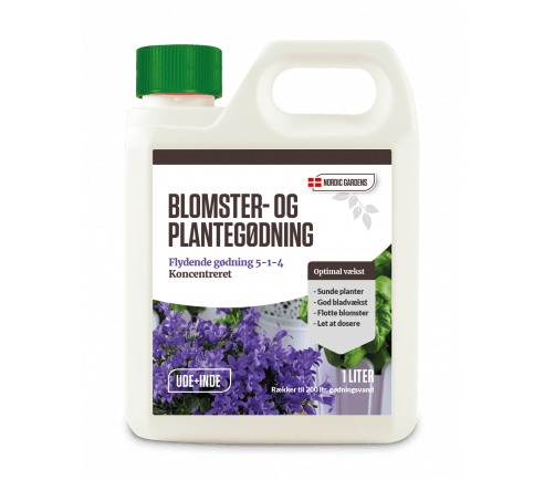 Blomster og plantegødning 1 liter