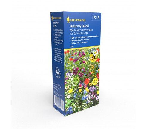 Blomsterblanding - sommerfugle paradis