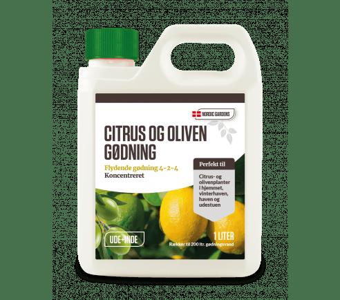 Citrus og oliven gødning 1 liter