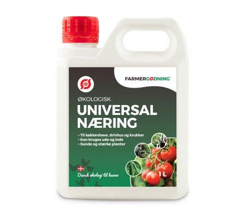 Økologisk flydende universalgødning 1 liter