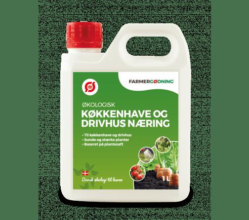 Økologisk Køkkenhave- og drivhusnæring - 1 liter