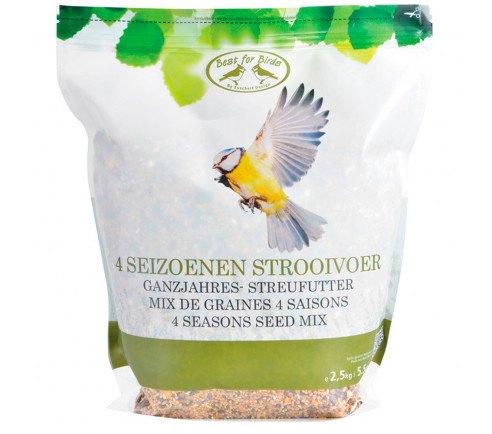 Fuglefoder - Helårs fodermix 2,5 kg