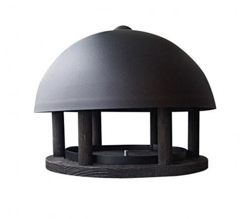 Foderhus Dome Black Wood