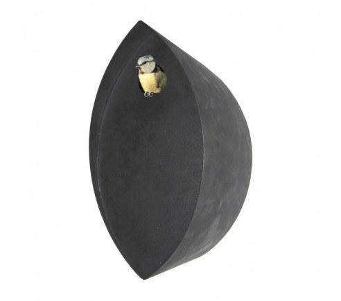 Redekasse Ellipse, sort pulverlakeret stål