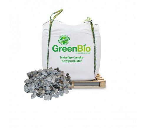 Grå Granit Skærver 11-16 mm - bigbag