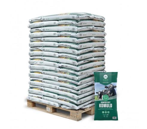 Holmebo Komposteret Komuld - 51 poser á 40 liter